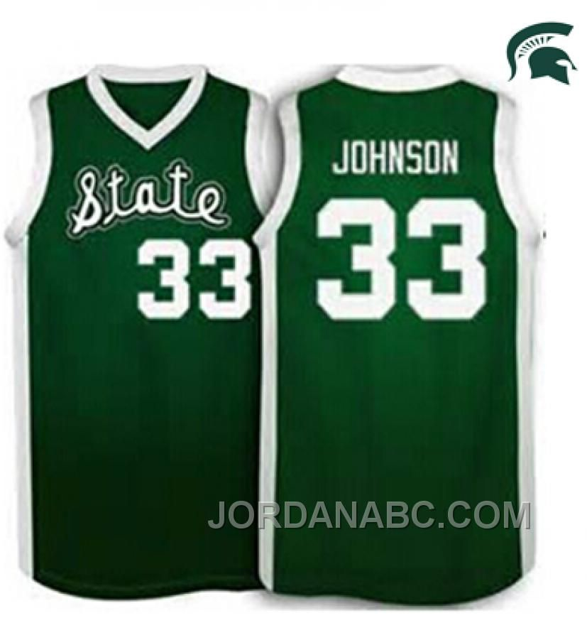 109a0492 ... Spartans 33 Magic Johnson Apple Green Authentic Basketball Stitched  NCAA Jersey httpwww.jordanabc.commagic-johnson-michigan- ...