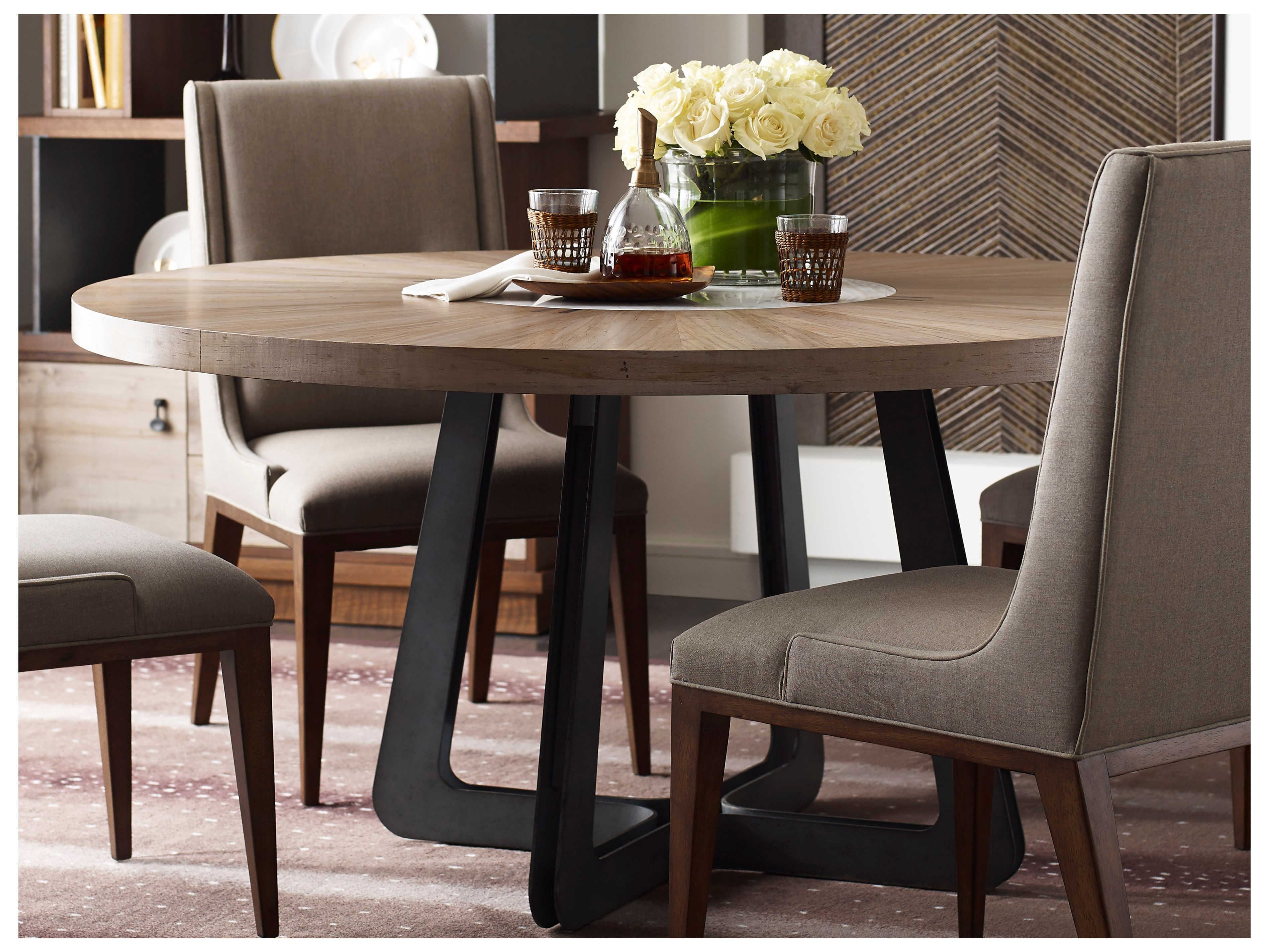 American Drew Modern Synergy Concentric 62'' Round Dining ...