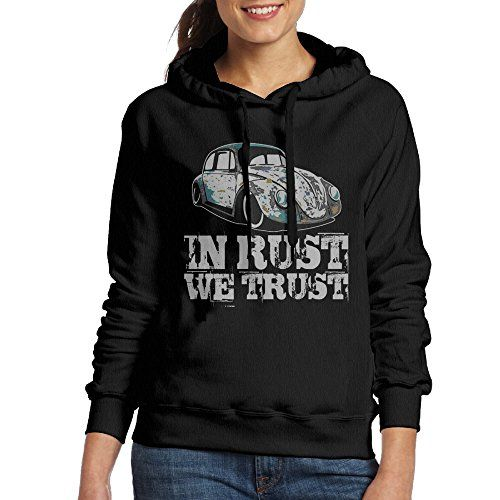 In Rust We Trust Rat  Hot Rod Hoodie