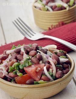 Kidney Bean Salad Mexican Kidney Bean Salad Recipe Mexican Recipes Recipe Bean Salad Recipes Bean Salad Healthy Bean Salad