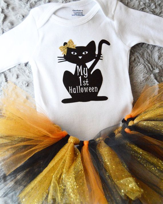 Hey, I found this really awesome Etsy listing at https://www.etsy.com/listing/248469740/my-first-halloween-onesie-halloween