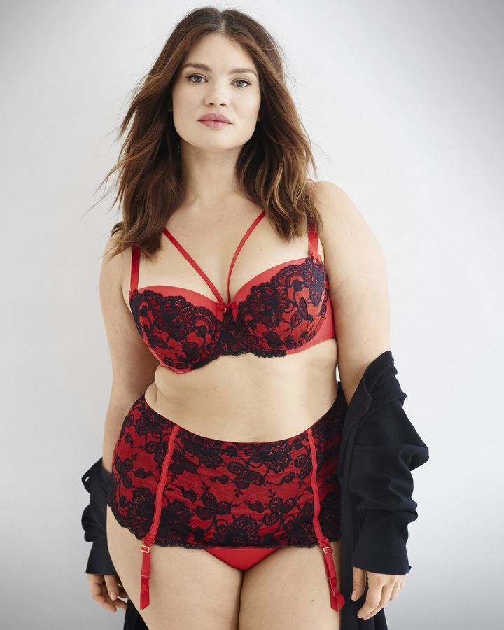 24745acefa8 Looking to heat things up this Valentine s  Today we share our favorite plus  size lingerie