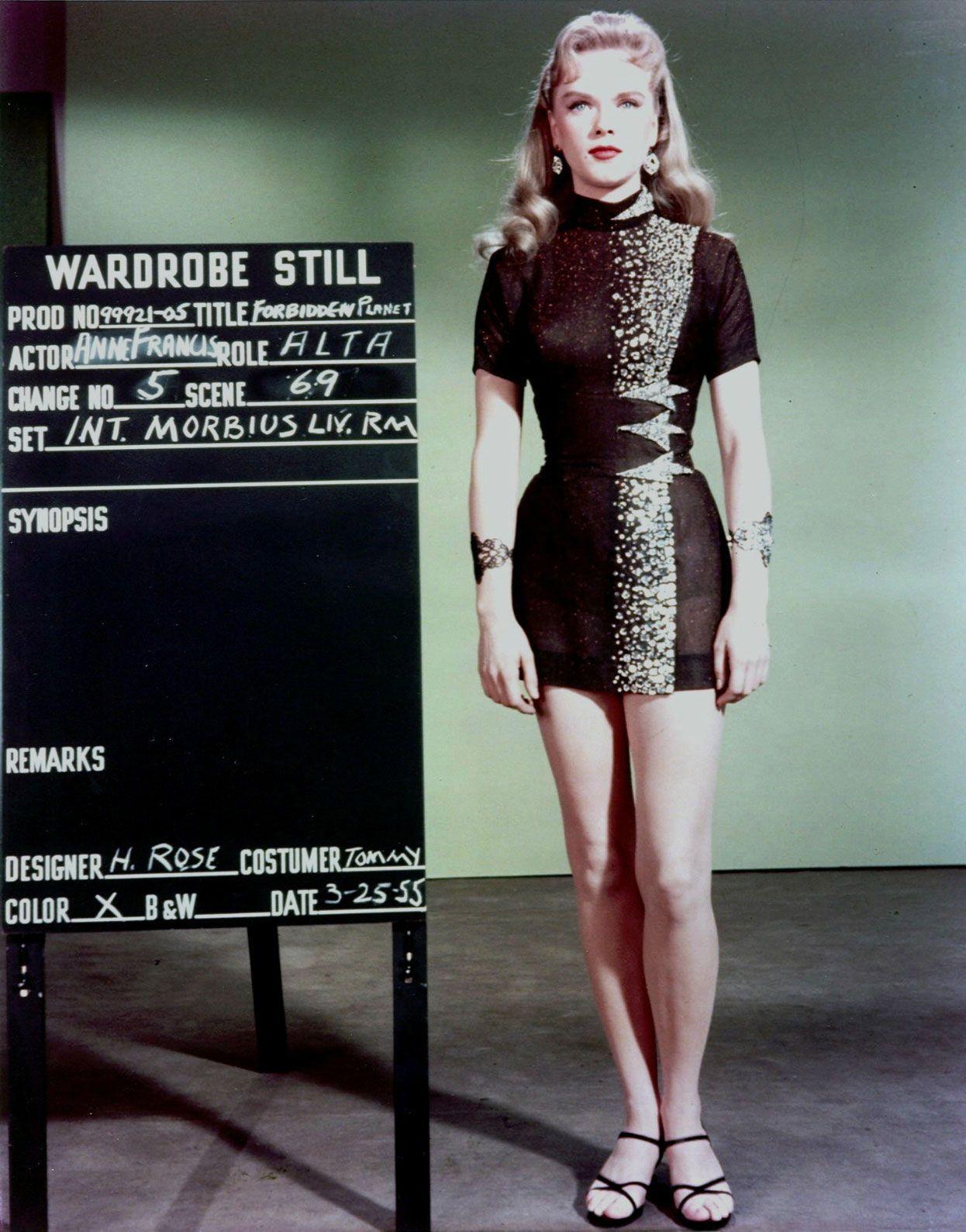 e138a7fd9da9 Anne Francis wardrobe test as