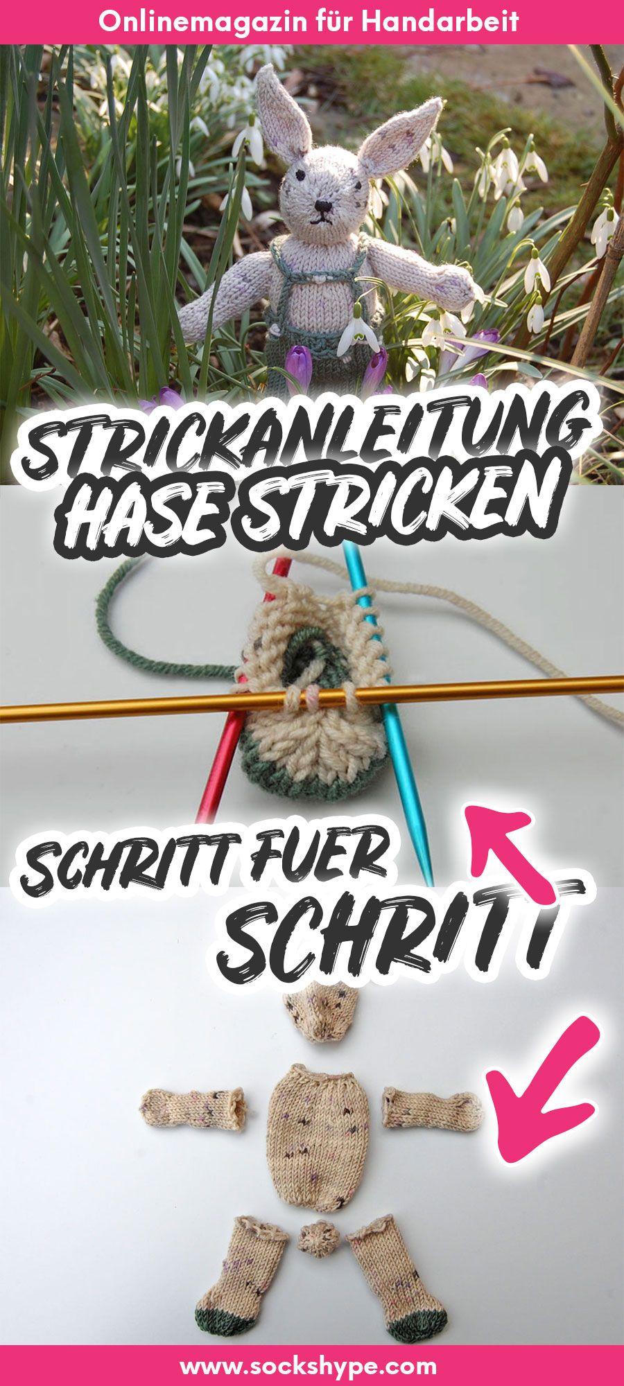 Photo of ▷ Anleitung: Hase in 7 Schritten stricken | sockshype.com