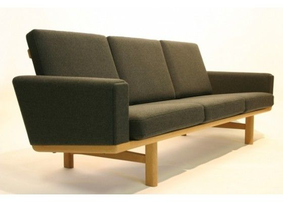 Ge 236 Hallingdal Sofa By Hans J Wegner For Getama 1960s For