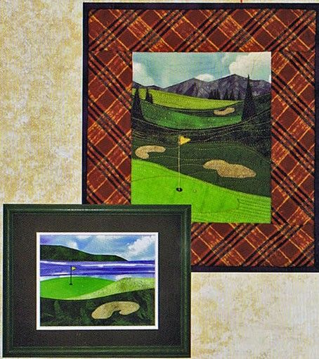 http://www.creativequiltkits.com/golf-course-pattern-by-the ... : golf quilt patterns - Adamdwight.com
