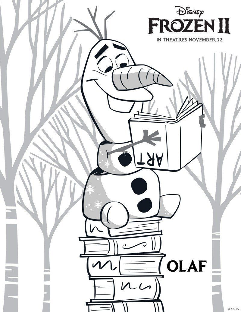 Free Printable Disney Coloring Pages Free Printable Disney Frozen 2 Olaf Coloring Page In 2020 Elsa Coloring Pages Frozen Coloring Pages Disney Coloring Pages