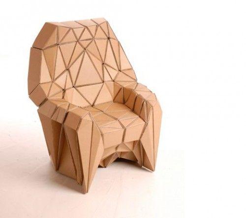 I mobili in cartone Lazerian
