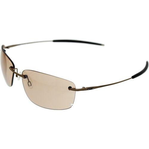 fe9b882224 Oakley Men s Nanowire 1.0 30-754 Brown Rimless Sunglasses