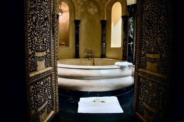La suitana bathroom in Morocco.