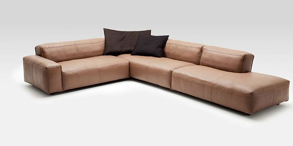 Ledersofa rolf benz  Superb Leather Sofa: Rolf Benz MIO by Norbert Beck | Modern and House
