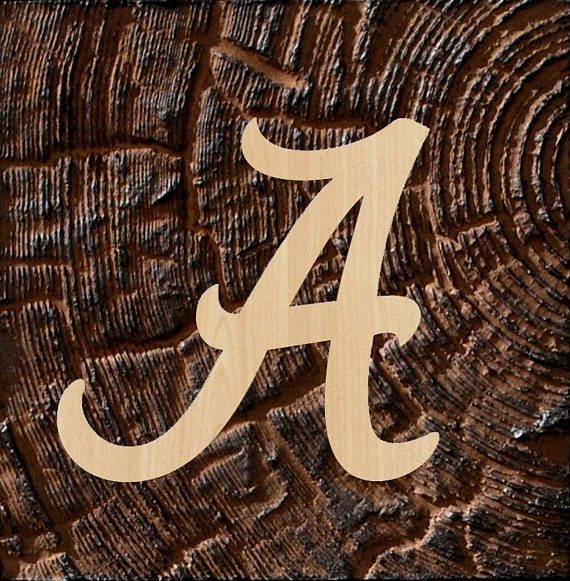Alabama font letters wooden letters a to z wood letters alabama font letters wooden letters a to z wood letters alabama alphabet cut out wall hanging letters initial unfinished unpainted alabama spiritdancerdesigns Gallery