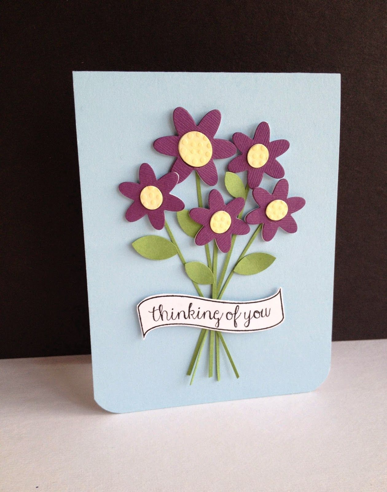 Flowers cards pinterest confetti handmade greetings and