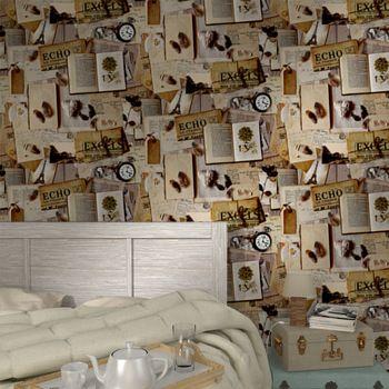 Chambre-cocooning-zoom-dc389cor PAPIERS PEINTS Pinterest Old