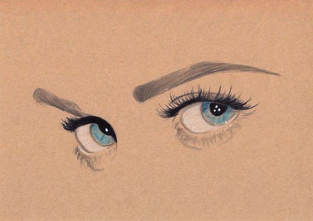 famous eyes illustrations pinterest eye illustration