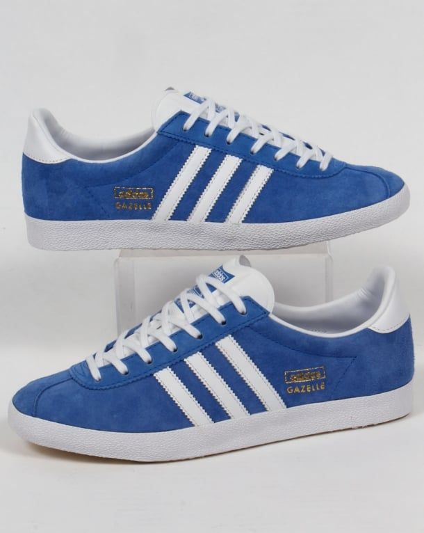 Adidas Gazelle OG Trainers Royal Bluewhite,originals,shoes