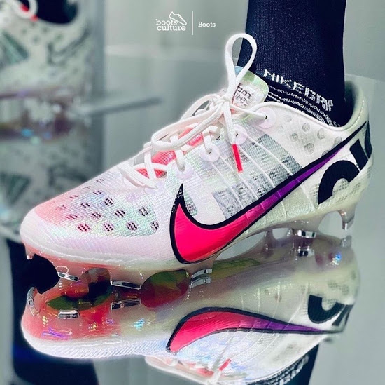 All New Nike Air Zoom Mercurial Boot Revealed Full Length Zoom Air First Ever Flyprint Upper In Football F In 2020 Nike Football Boots Nike Air Zoom New Nike Air