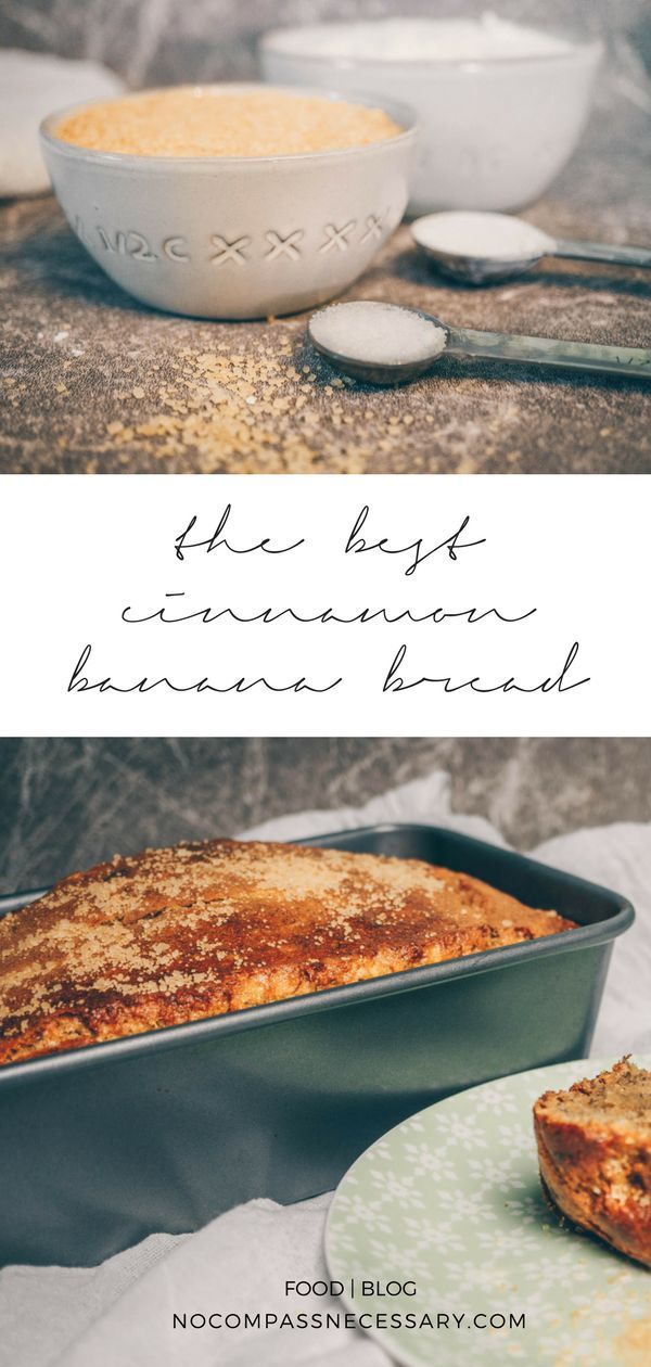 Gluten-Free Cinnamon Banana Bread The best vegan and gluten-free Cinnamon Banana Bread recipe!