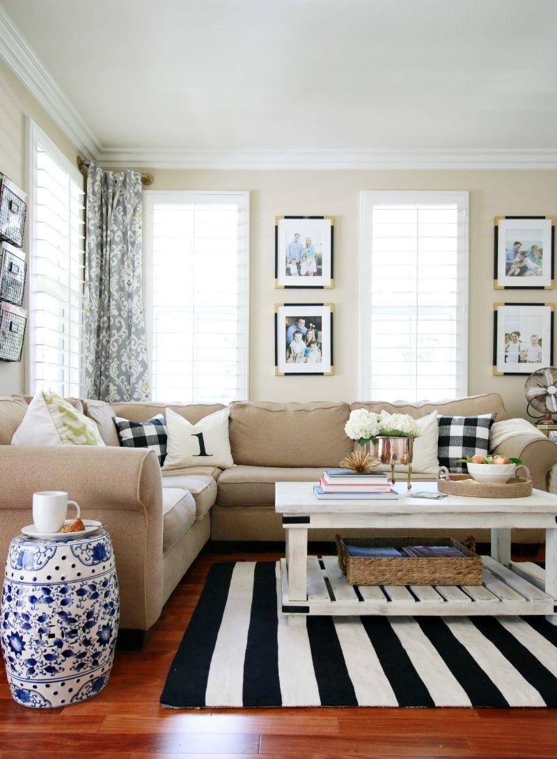 Fall Home Tour 2015 | HOME BLOGGER DECOR | Pinterest | Living rooms ...