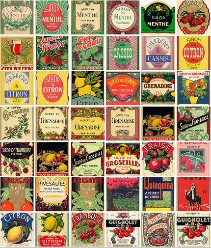 Great Vintage Labels For Crafting Vintage Printables Vintage Labels Printable Labels