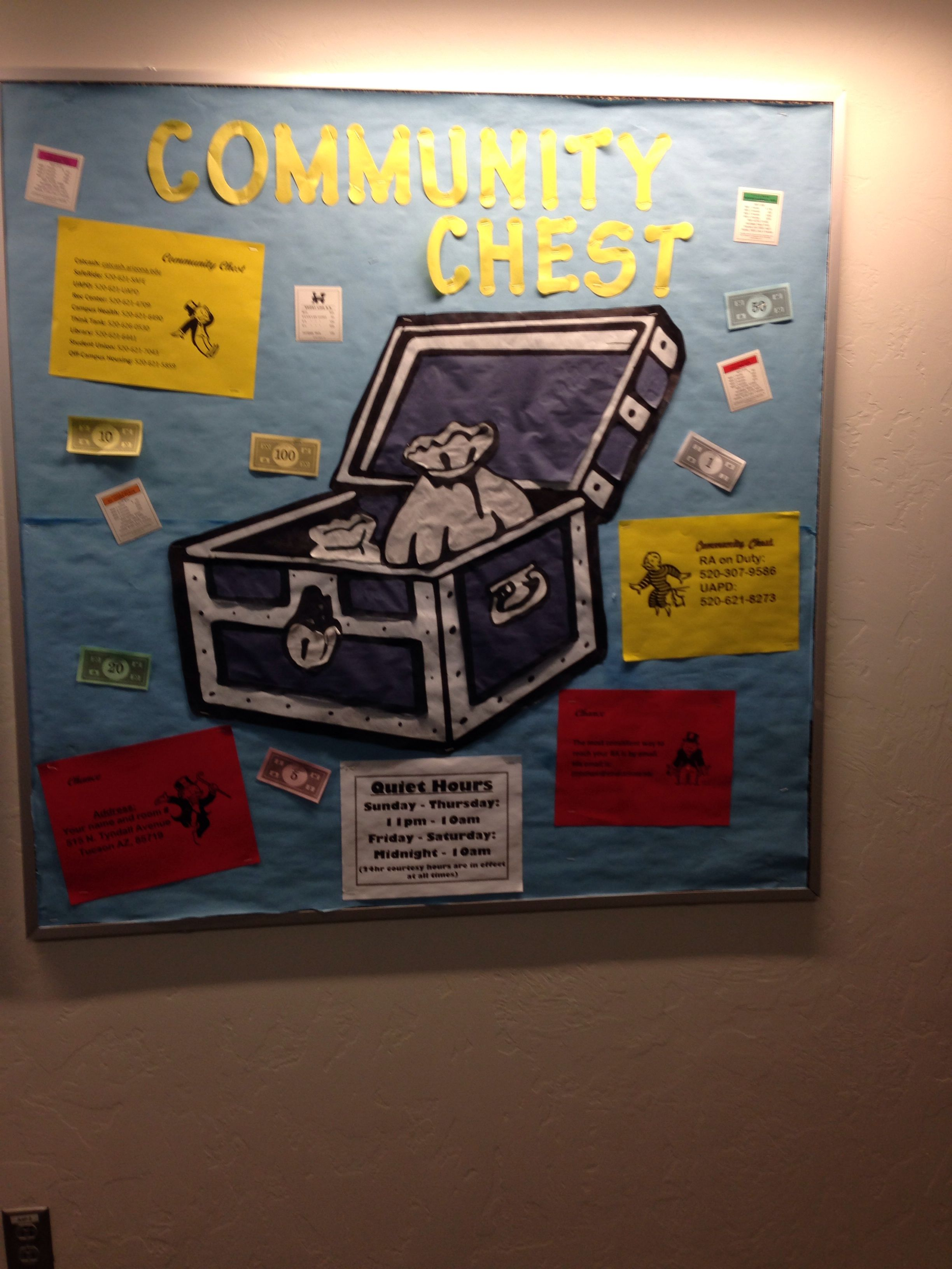 Monopoly Bulletin Boards Classroom