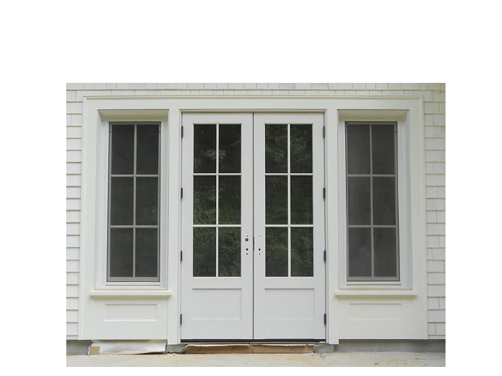 Lovely Inswing French Door With Fixed Transom And Concealed Interior Wall Shutters  By H. Hirschmann LTD, Vermont, USA | Hirschmann Windows And Doors GOOD U2026