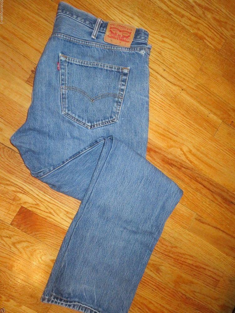 84c1f971 Vintage Men's Levi's 501 Jeans Button Front Size 42 X 34 #4032 #Levis