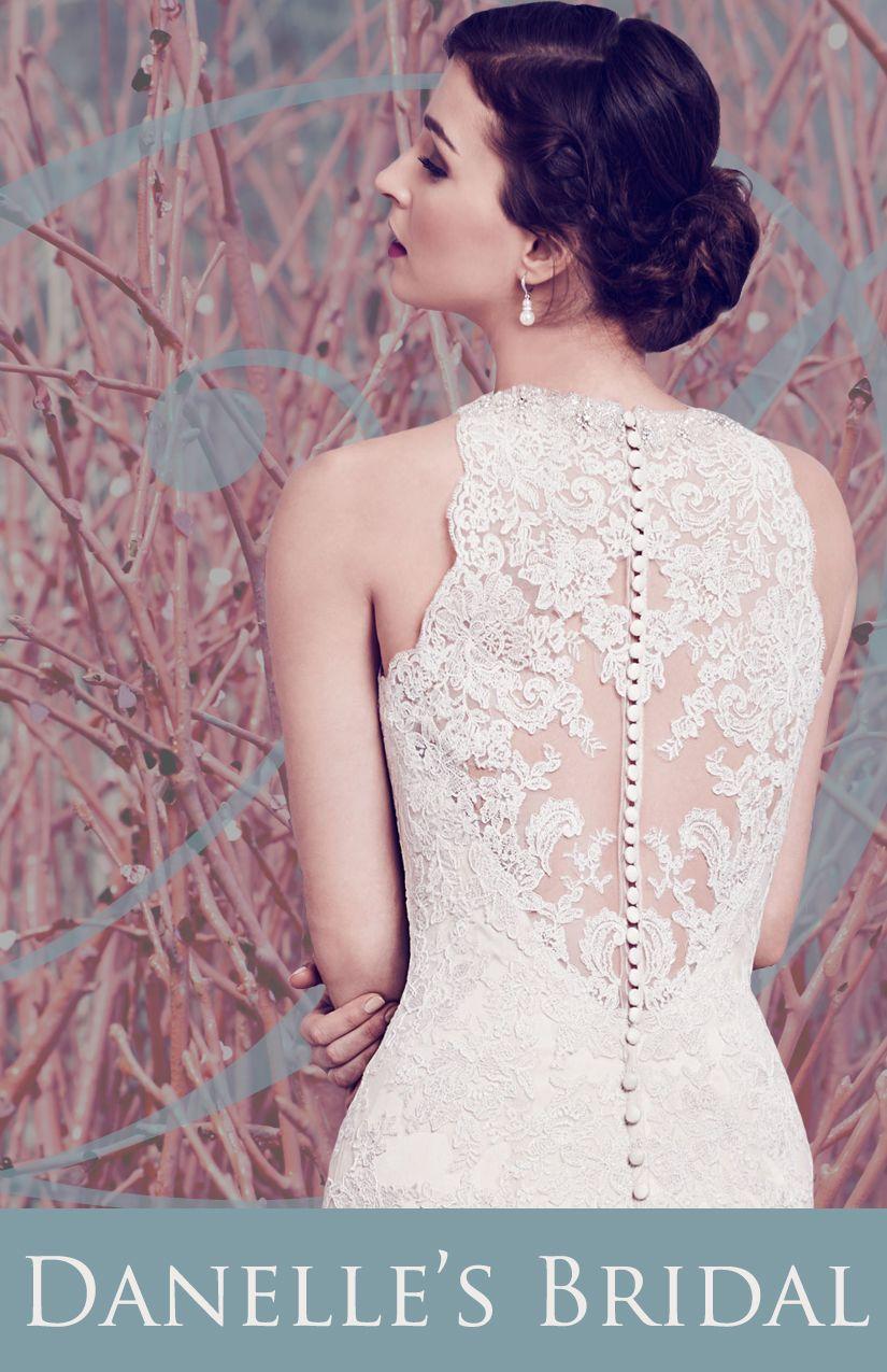 Lace Bridal Gown Design from Danelle\'s Bridal Boutique Colorado ...
