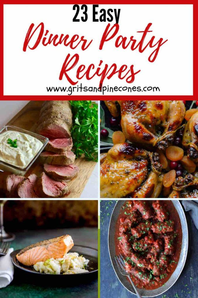 23 Easy Dinner Party Recipes images
