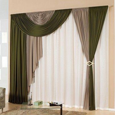 Cortinas para dormitorio ventanas modernas Pinterest Cortinas - cortinas para ventanas