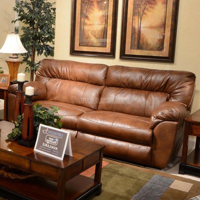 Phenomenal Nolan Power Extra Wide Reclining Sofa Chestnut Elbertas Inzonedesignstudio Interior Chair Design Inzonedesignstudiocom