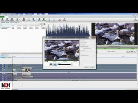 VideoPad Video Editing Software   Overview Tutorial ...