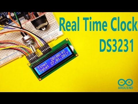 Arduino - DS3231 Real Time Clock : 6 Steps (with Pictures