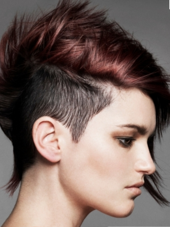 Phenomenal 1000 Images About Funky Hair On Pinterest For Women My Hair Short Hairstyles Gunalazisus