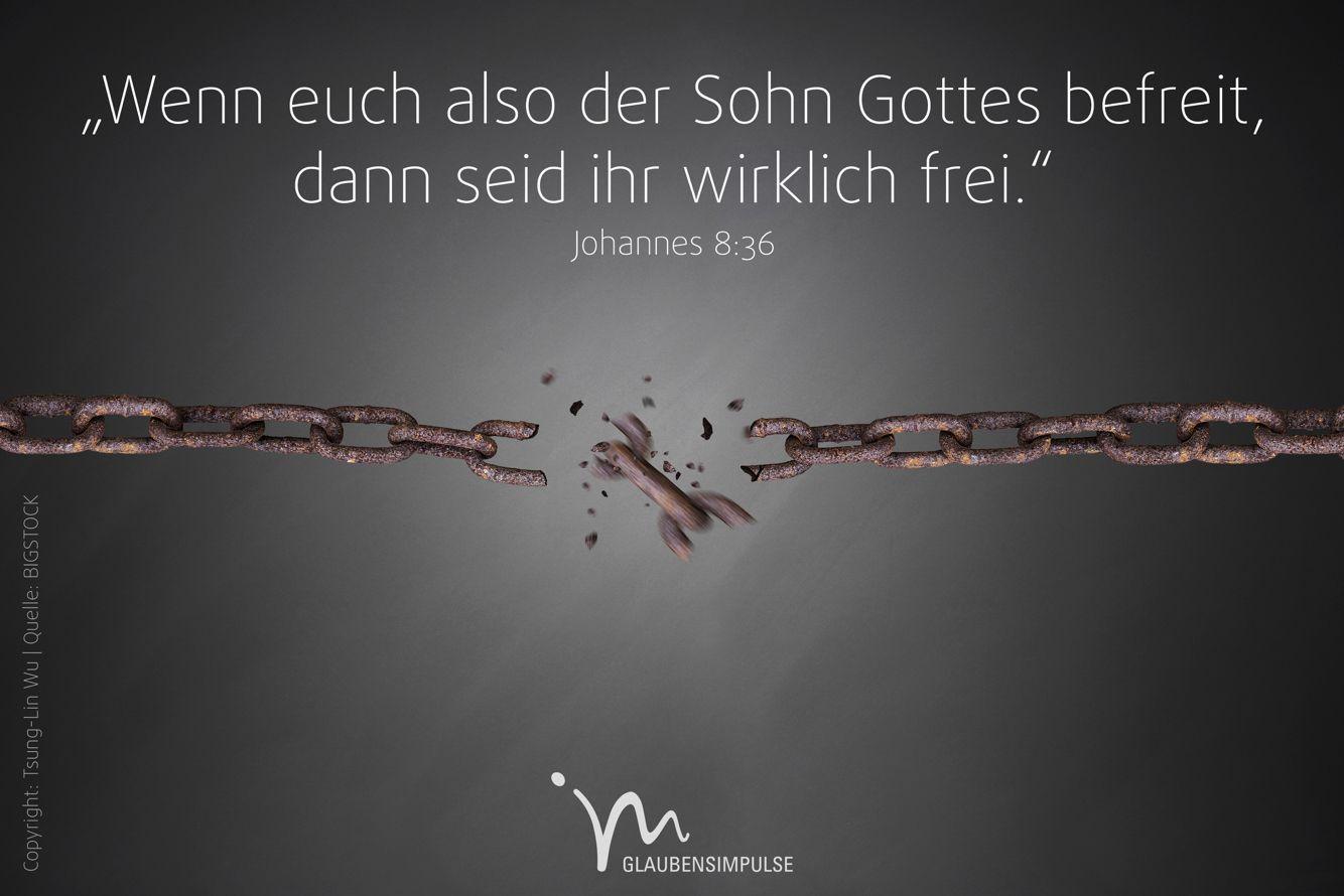 """""""Wenn euch also der #Sohn #Gottes #befreit, dann seid ihr ..."""