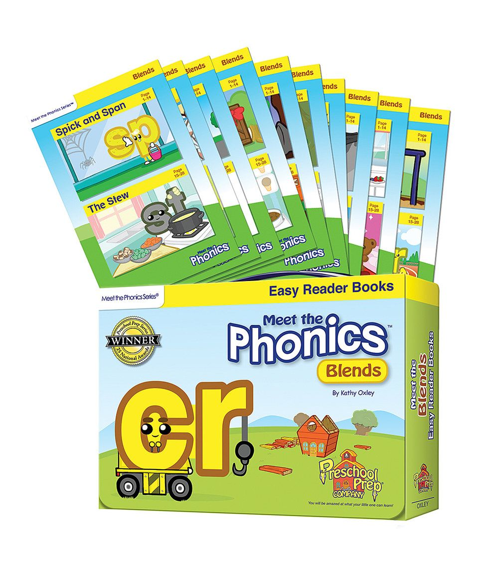 Look what I found on #zulily! Meet the Phonics Blends Easy Reader ...