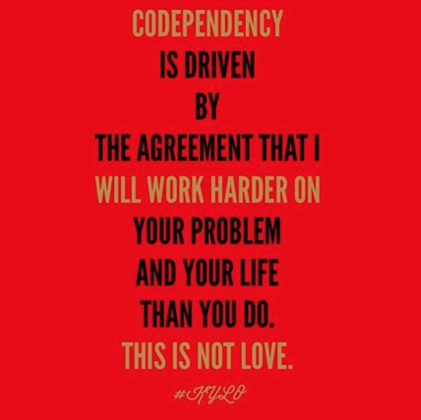 Codependency in friendships