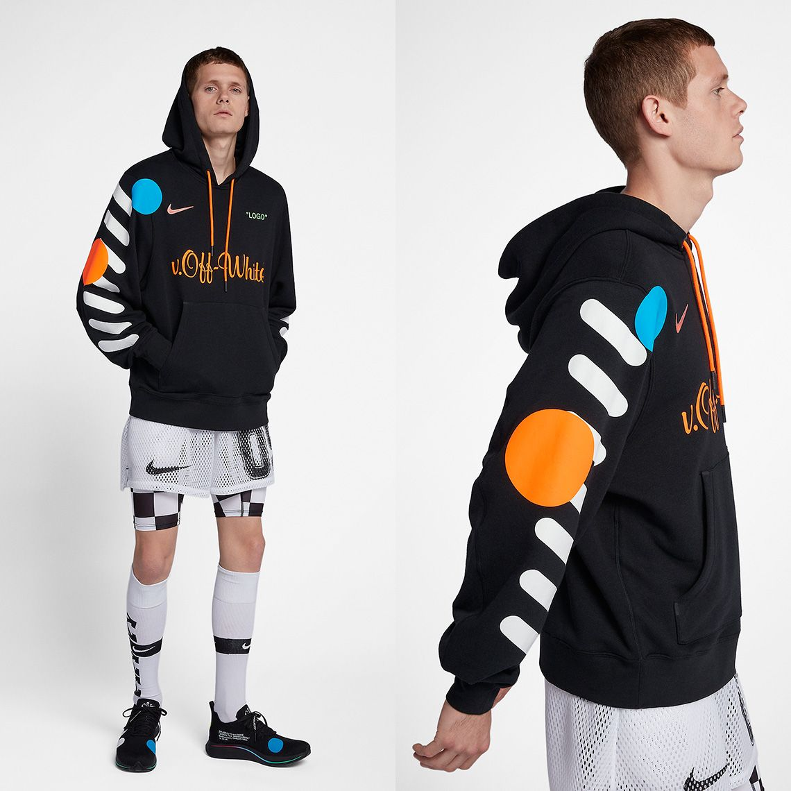 Dólar Menagerry Traducción  OFF WHITE Nike Football Apparel Release Info   SneakerNews.com   Hoodies  men, Football outfits, Hoodies