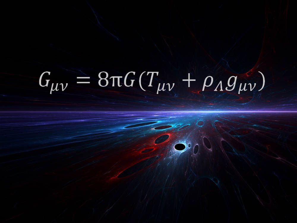 The 11 Most Beautiful Mathematical Equations | Mathematical equations,  General relativity, Physics and mathematics