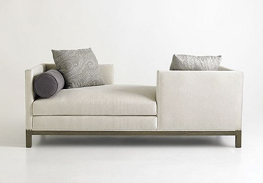A Rudin Tete A Tete Chaise For Two Dimensions 84 W X 36 D