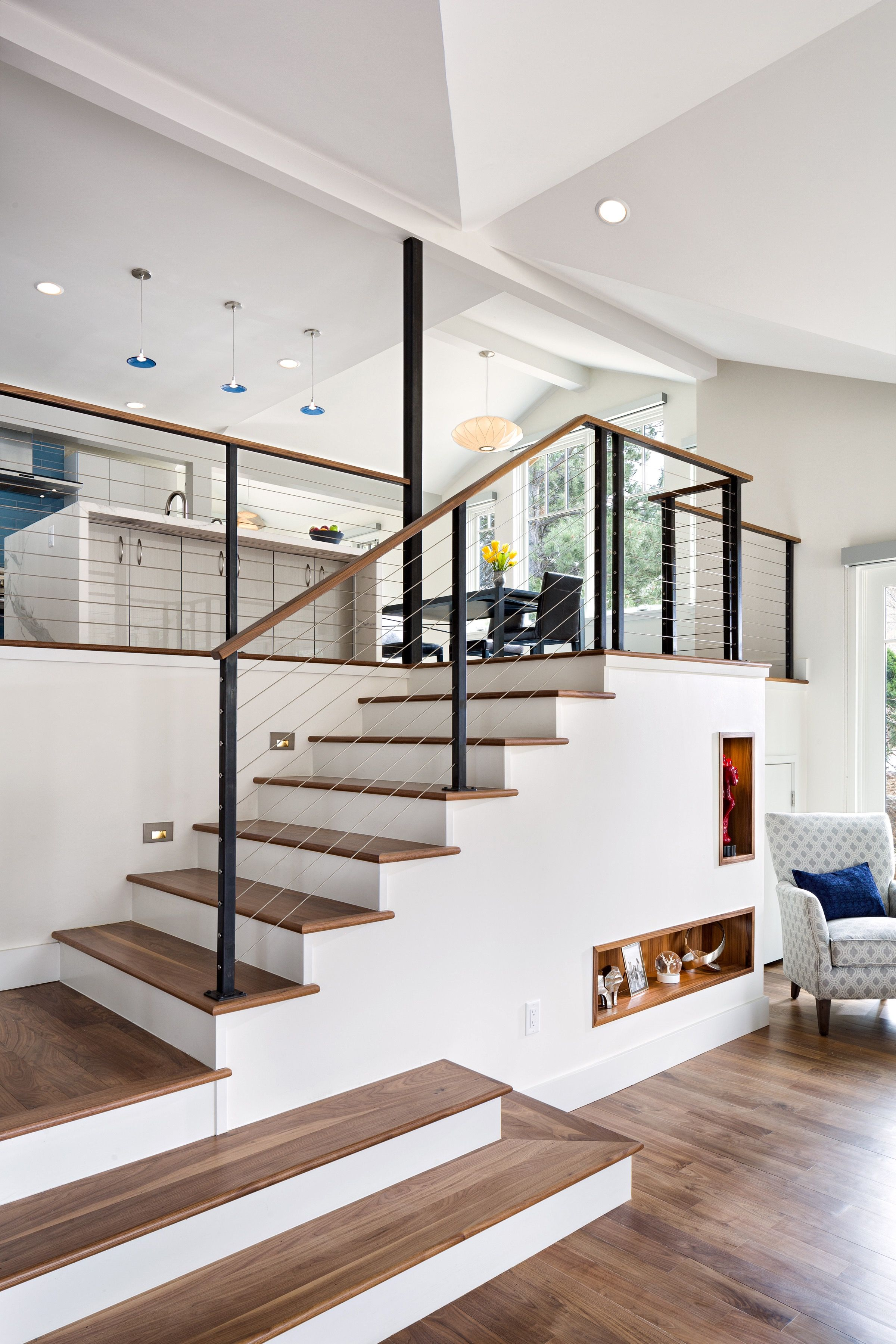 Melton Design Build - Staircase - Devil\'s Thumb Remodel   MDB ...