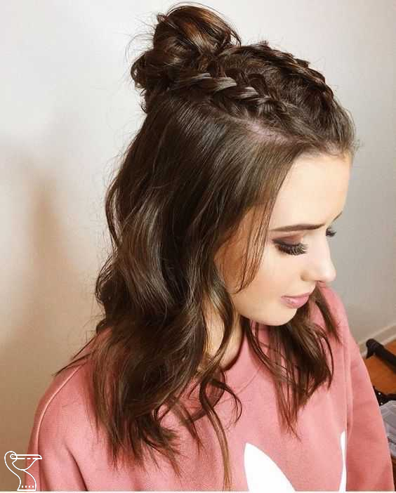 Easy Hairstyles For Meduim Length Hair For This Season Page 16 Of 20 Medium Length Hairstyles Are The M In 2020 Easy Hairstyles Medium Length Hair Styles Hair Styles
