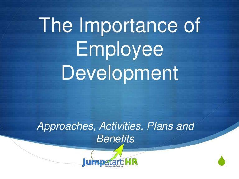 How To Develop An Employee Development Plan  Chart