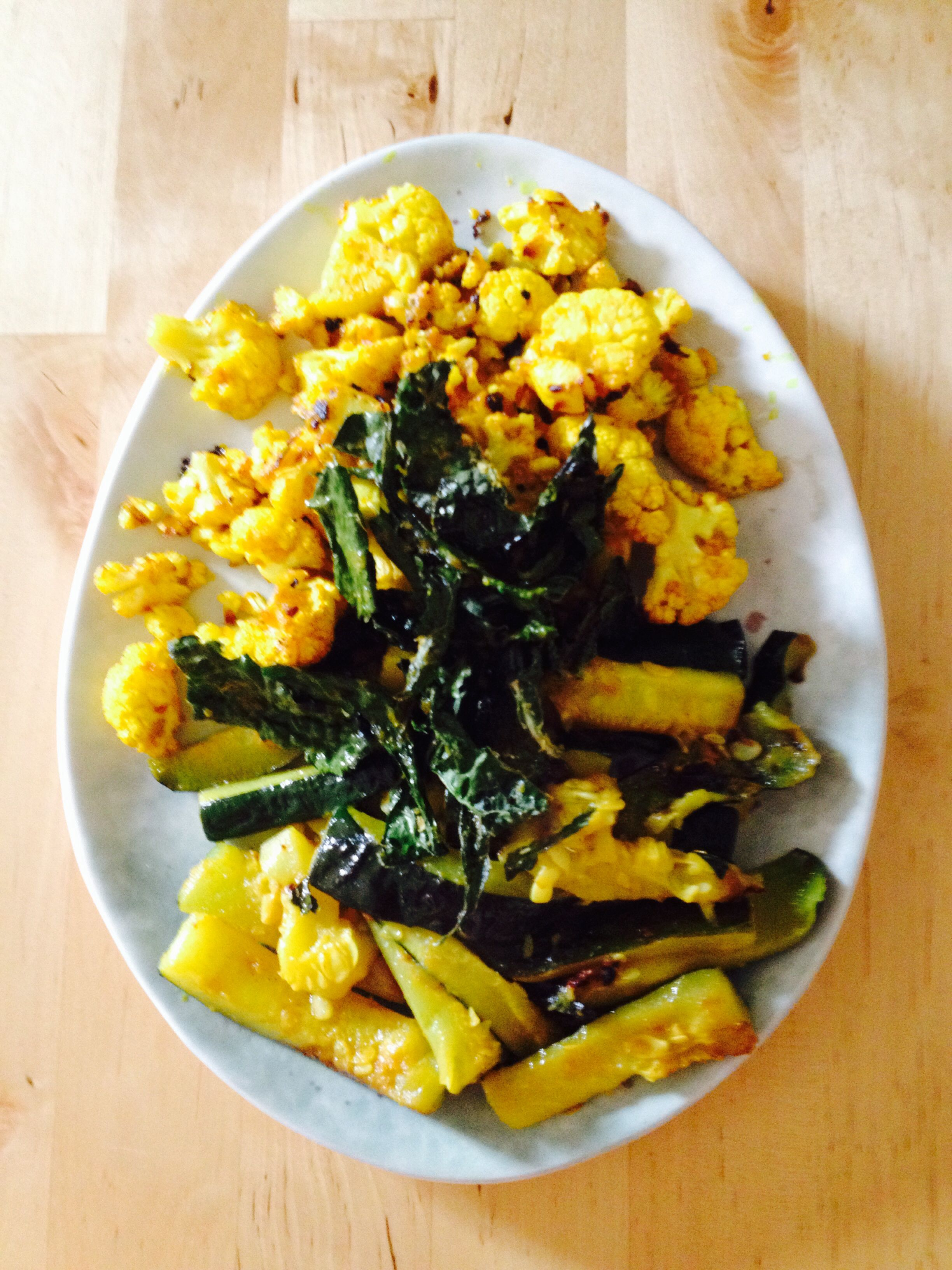 Image result for turmeric cauliflower and zucchini