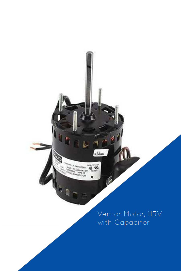 Ventor Motor, 115V with Capacitor Air_Conditioner Air