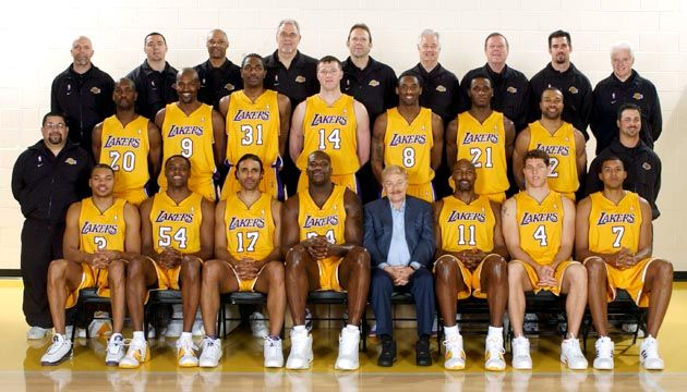 2003 2004 Los Angeles Lakers Nba Pictures Lakers Lakers Team