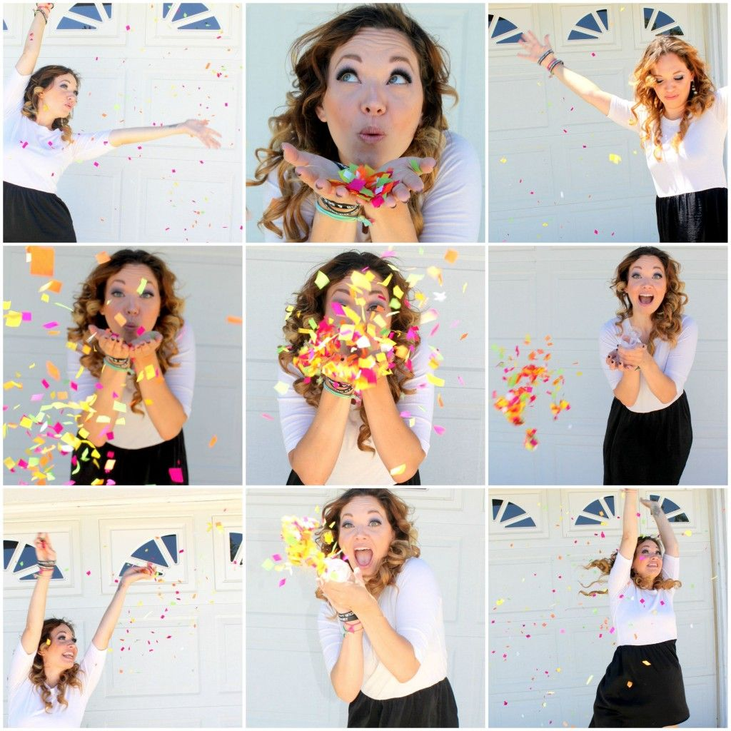 Fun Idea For Any Adult Or Child Photo Shoot DIY Confetti Push Pops Birthday With Connections By Hallmark TrendyCards Shop