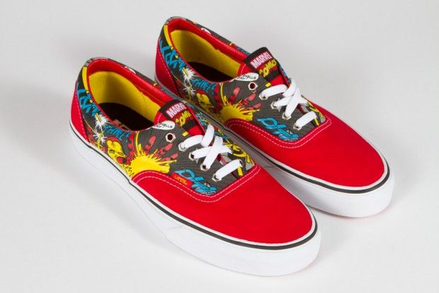 baskets vans iron man