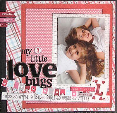 My 2 Little Love Bugs-1 Vertical 5X7