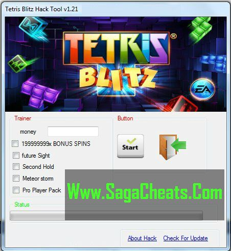 Download 100% Working and Virus Free Tetris Blitz Cheats